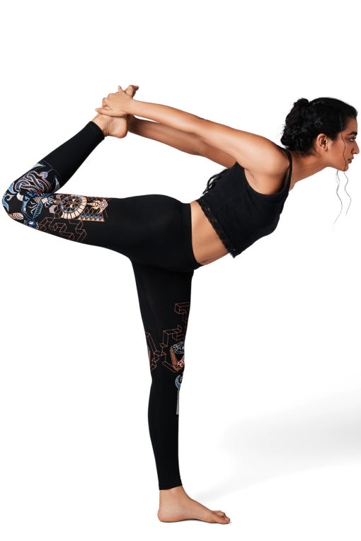 Yoga Pants Kundalini Awakening Black