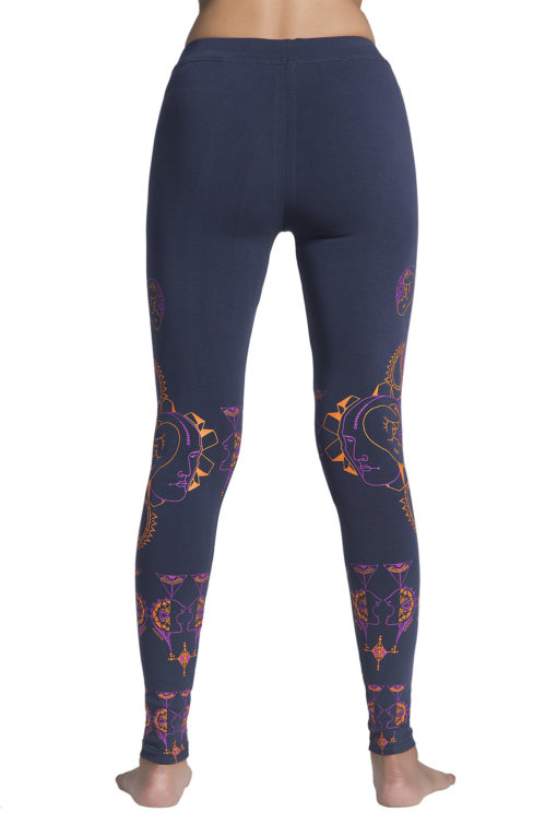 Yoga Pants Rebirth Visionary Grey Back